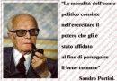 Sandro Pertini, una fulgida mente offuscata dalla cupidigia di coloro che minano la democrazia